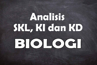 Analisis SKL KI dan KD Biologi SMA Tahun 2021