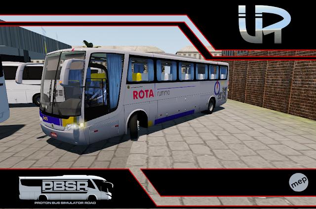 Skin Proton Bus Simulator Road - Vissta Buss LO O-500 RS Viação ROTA