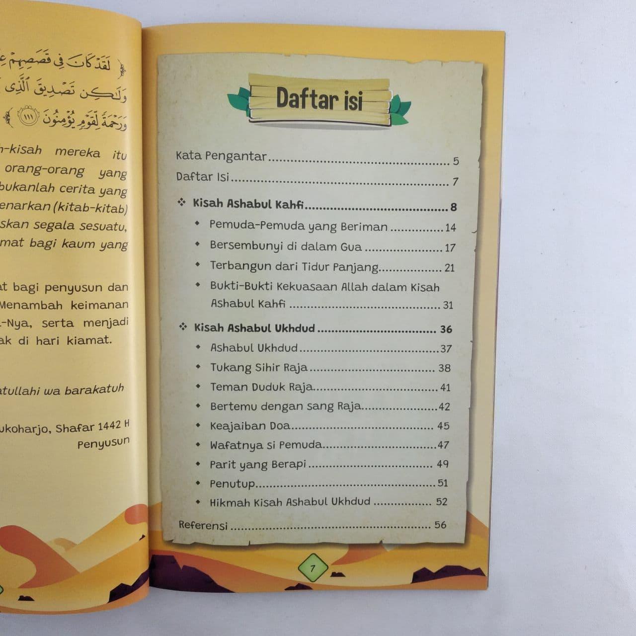 Buku Anak Kisah Ashabul Kahfi dan Ashabul Ukhdud Attuqa