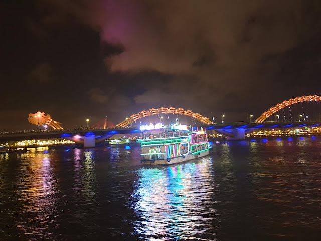 Han River by Night in Da Nang