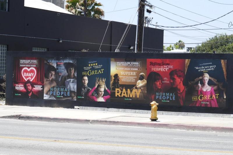 Hulu 2020 Emmy FYC street posters