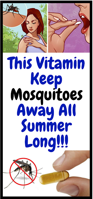 This Vitamin Will Keep Mosquitos Away All Summer Long!