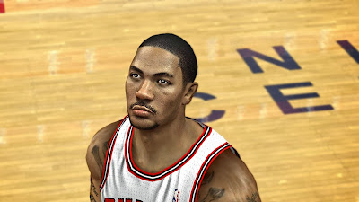 NBA 2K14 Derrick Rose Cyberface Mod