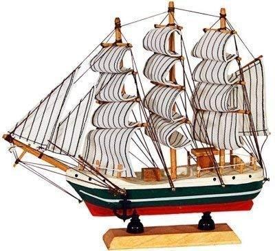 Wooden Sailing Ship Showpiece