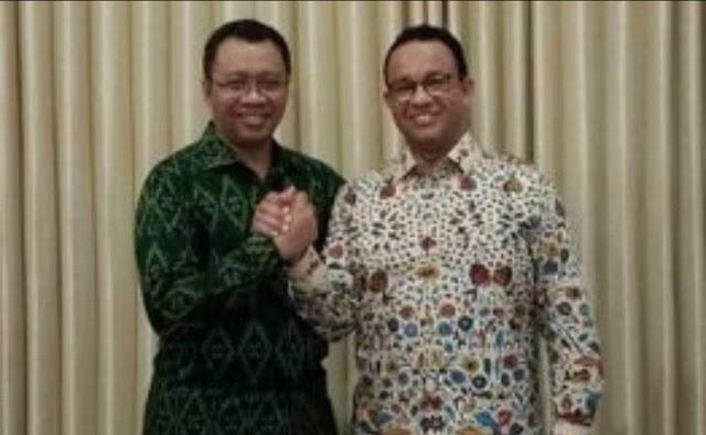Gubernur DKI Jakarta Anie Baswedan Mengunjungi Lombok