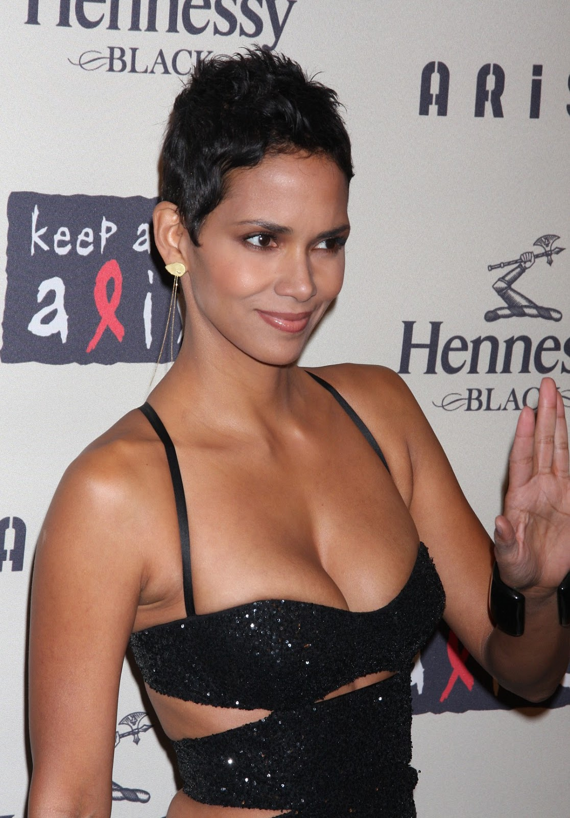 Halle Berry Halle Berry Cleavage Pics
