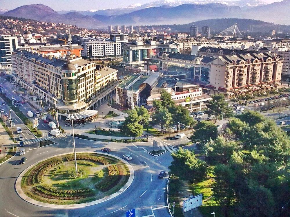 Podgorica, Capital de Montenegro