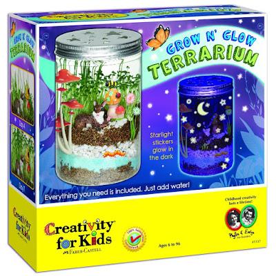 Creativity for Kids Glow N' Grow Terrarium