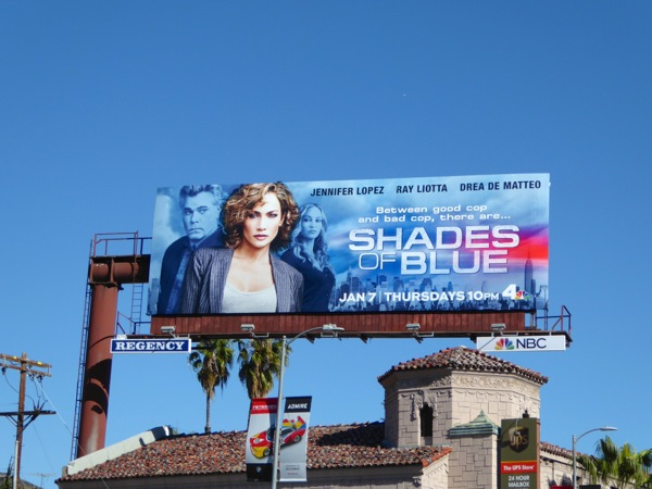 Shades of Blue season 1 billboard