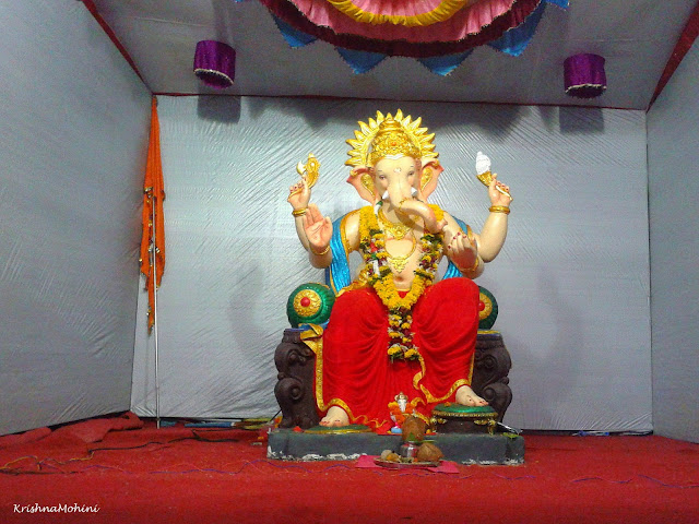 Image: Lord Ganesha with Prosperous Golden Aura