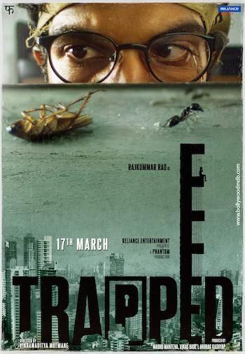 Trapped 2017 pDVDRip x264 Hindi 700MB