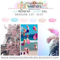 Wyzwanie lipcowe #18: Letni Luz + DT CALL  | Creative MMW #18 Challenge: Summer Chill Moodboard