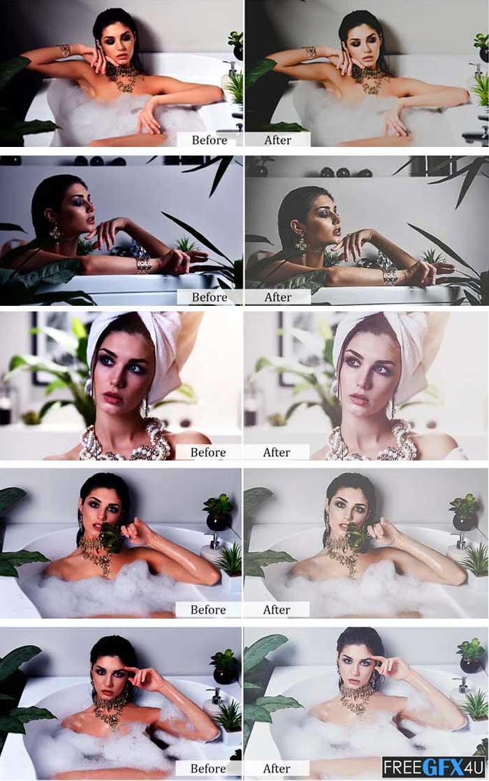 75 Matte Sensation Photoshop Actions