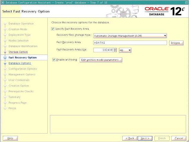 Connection Data1 >> Netsoftmate Technical Blog : Create 12.2.0.1 Database on Exadata Database Machine