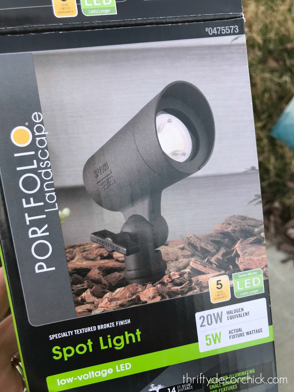 spot landscaping light
