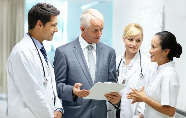 benefits hiring consultants medical practice