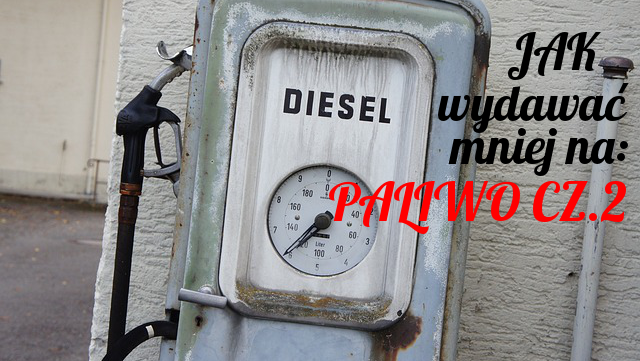 stary dystrybutor paliwa