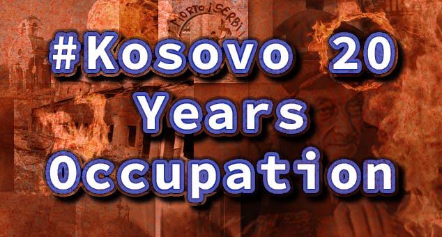 #20years #Kosovo20YearsOccupation
