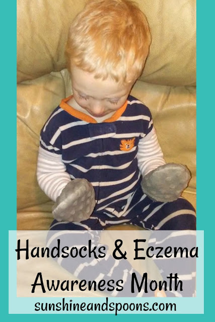 Handsocks and Eczema Awareness Month