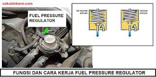 fungsi dan cara kerja fuel pressure regulator