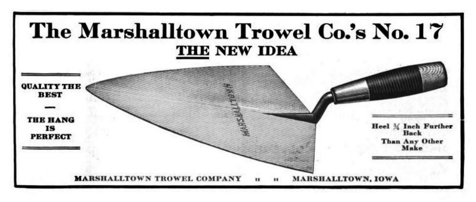 Trowel and Masonry Tool Collector Resource : Determining the