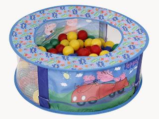 piscina de bolinha da peppa pig
