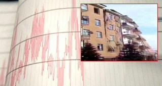 بالفيديو: لحظة انهيار مبنى مكون من 6 طوابق جراء زلزال ضرب إلازيغ اليوم