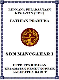 Rencana Pelaksanaan Kegiatan (RPK) Latihan Pramuka