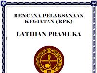 Rencana Pelaksanaan Kegiatan (RPK) Ekstrakurikuler Pramuka