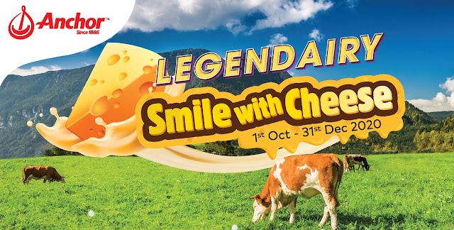 "Celebrate Cheese With Anchor Legendairy Contest  Anchor Food Professionals Gets Malaysians To ""Smile with Cheese""  & Win Prizes Up To RM100,000"