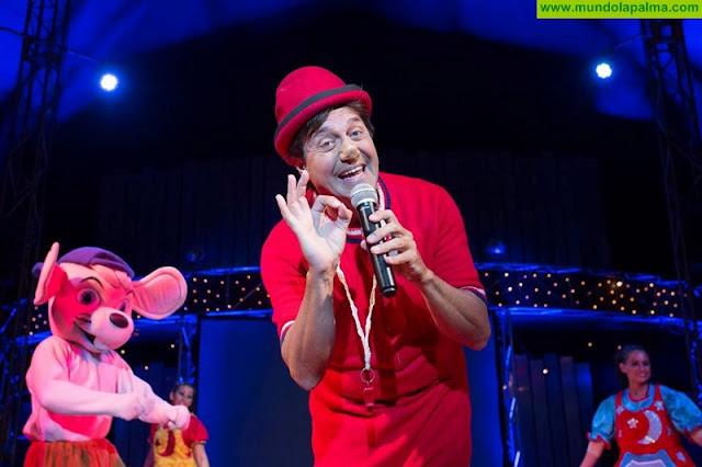 Circo Rody Aragón aplaza el estreno del show 'Los  Payasos de la Tele' en Santa Cruz de La Palma