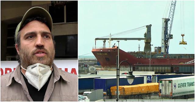 Pekerja Pelabuhan di Italia Ogah Memuat Pengiriman Senjata yang Ditujukan ke Israel