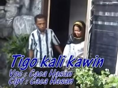 Lirik Lagu Tiga Kali Kawin - Wak Uteh Tanjung Balai