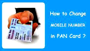 HOW TO CHANGE MOBILE NUMBER IN PAN CARD THROUGH ONLINE