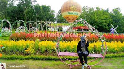 lokasi taman wisata alamanda flower garden turi sleman
