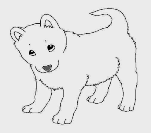 coloring pages huskeys | Printable Siberian Husky Coloring Pages – Colorings.net