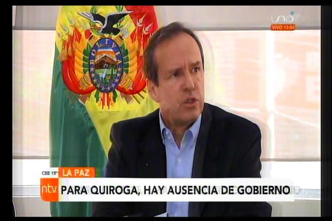 Tuto a Arce: Es hora de que empiece a gobernar, no hay iniciativas, hay una crisis económica profunda que se acrecienta