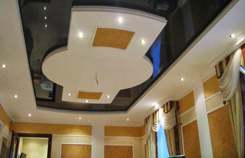 salons du maroc et d coration orientale la d coration de faux plafond en platre mod les 2014. Black Bedroom Furniture Sets. Home Design Ideas