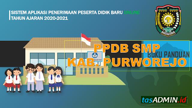PPDB SMP Kabupaten Purworejo Tahun Pelajaran 2020/2021 online