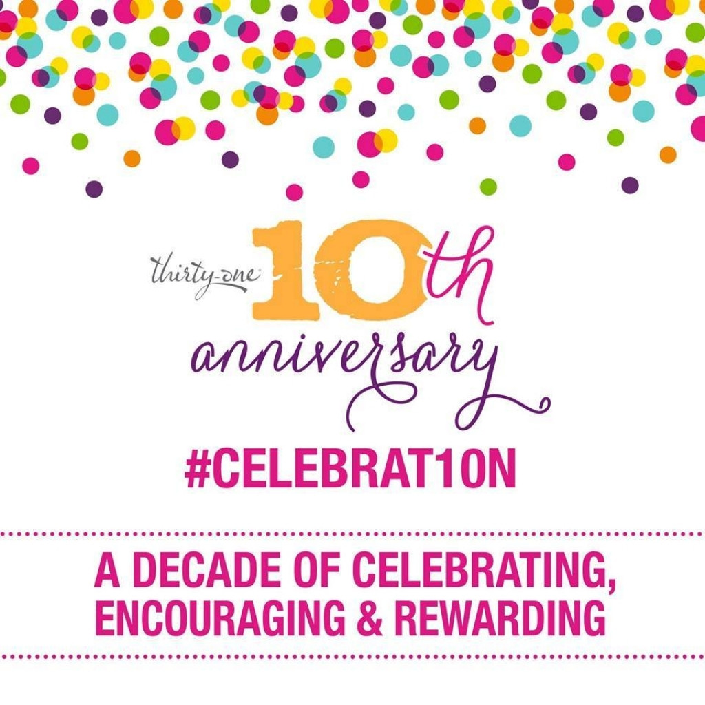 10th work anniversary celebration
