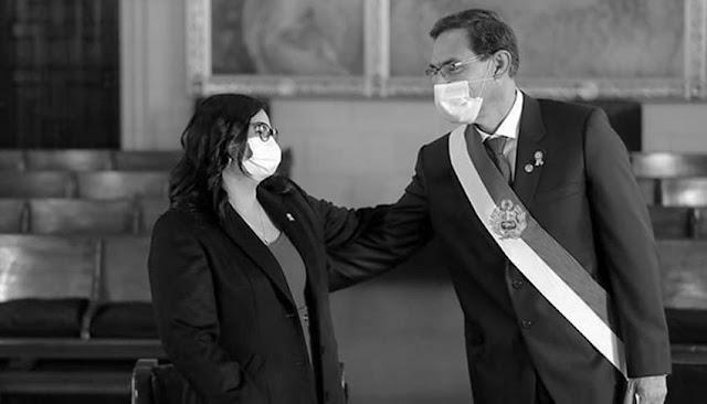 vacunación extraoficial de Vizcarra y su esposa.