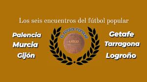 Los seis encuentros del fútbol popular