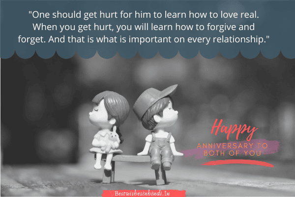 anniversary messages for couple, happy anniversary both of you image