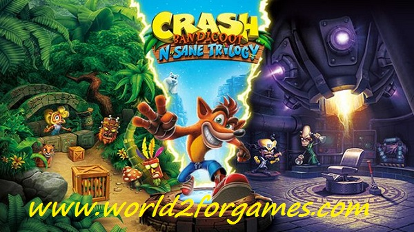 """Free Download Crash Bandicoot N Sane Trilogy ""Fitgirl Repack"