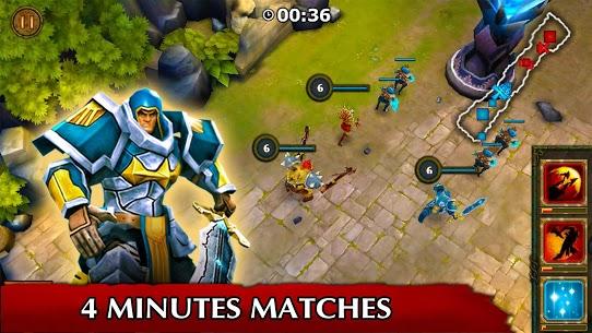 تحميل لعبة Legendary Heroes MOBA مهكره للاندرويد