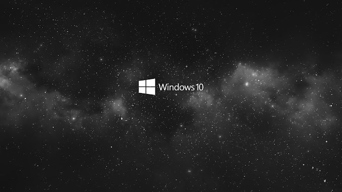 Windows 10 Black And Gray Wallpaper
