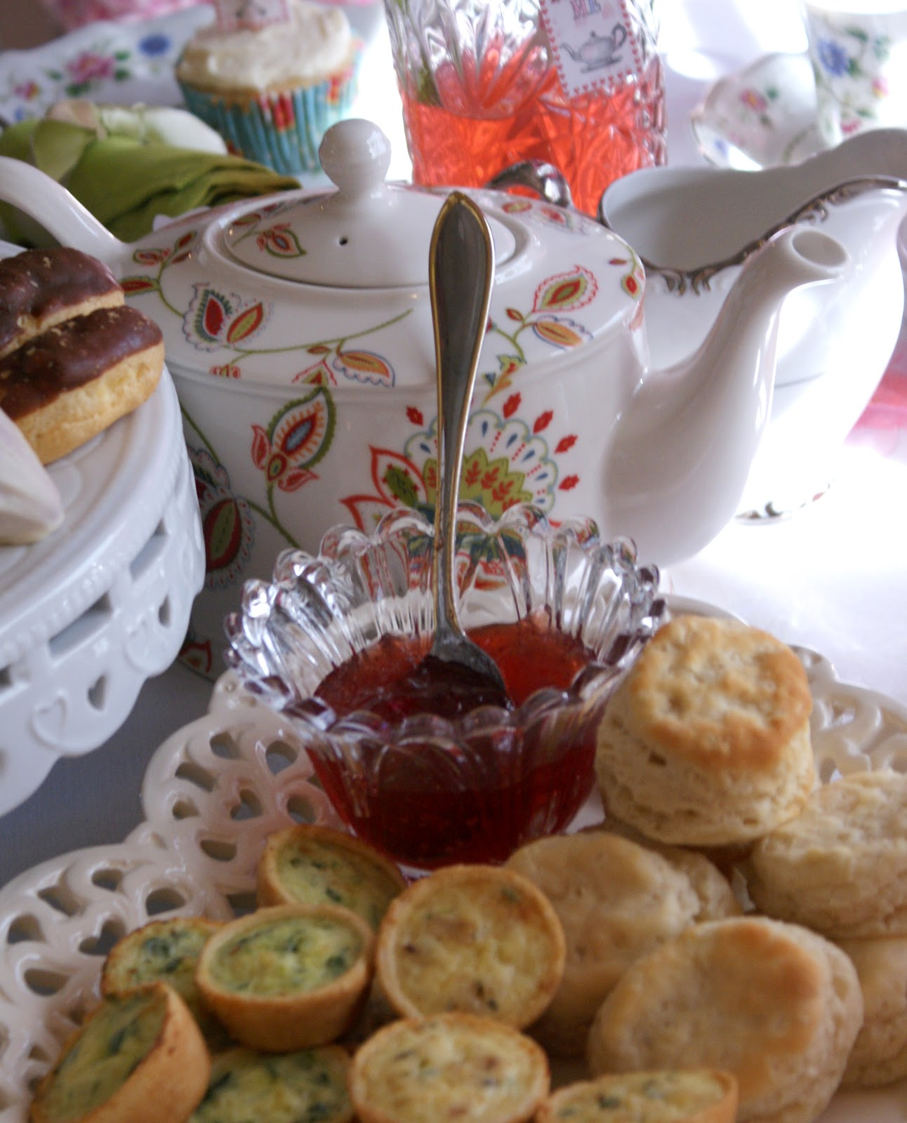 A Little Loveliness Wonderland Tea Party Menu