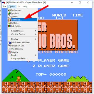 Super Mario Bros. 1985 - Defining Controllers