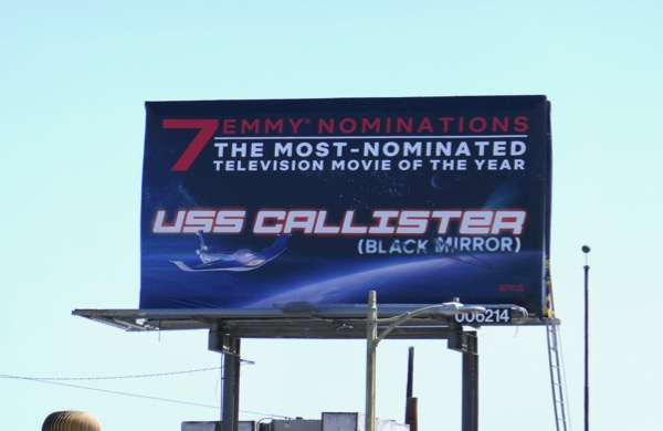 USS Callister Emmy nominee billboard