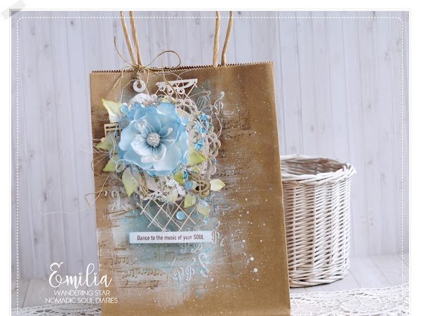 Gift Bag & Tag Video Tutorial - Nomadic Soul Diaries